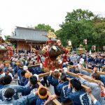 和楽備神社 神輿祭
